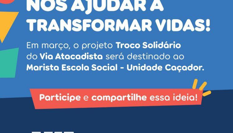 Campanha Troco Solidário